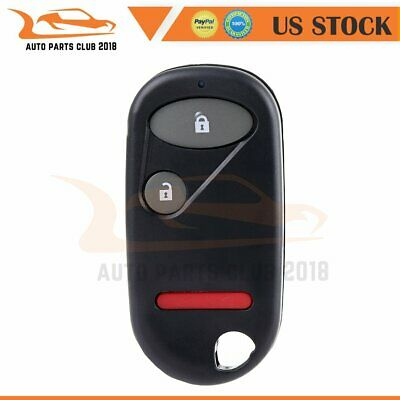 For 01-05 Honda Civic  New 4 Keyless Entry Remote Key Fob Clicker Transmitter