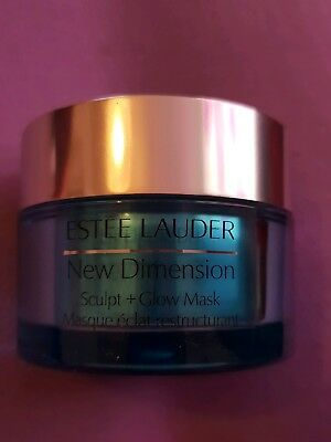 estee lauder new dimension sculpt and glow mask