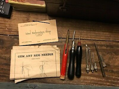 Gem Art Rug Needle Set