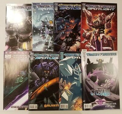 "Transformers: ""Decepticon"" Spotlight lot!! IDW, 8 total issues, NM lot!"