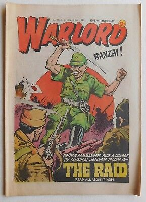 WARLORD Comic #259 - 8th September 1979