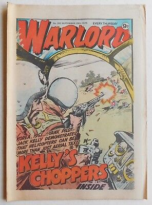 WARLORD Comic #262 - 29th September 1979