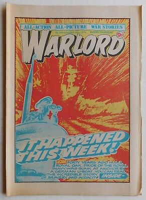 WARLORD Comic #264 - 13th October 1979