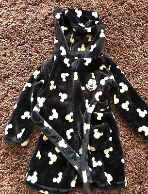 Baby Boys Disney Mickey Mouse Dressing Gown 12-18 Months