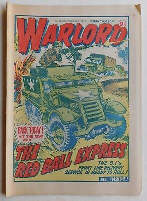 WARLORD Comic #265 - 20th October 1979