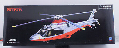 NewRay A109 Power Agusta Ferrari Diecast Helicopter 1:43 Hard To Find New in Box