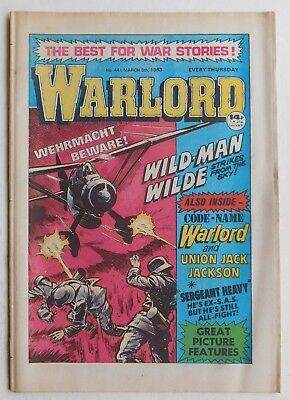 WARLORD Comic #441 - 5th March 1983