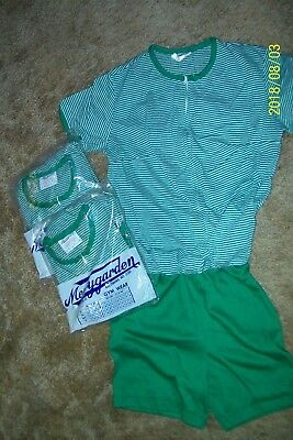Vintage Gym Wear Size 10 Girls/missy      (3)    New   Merrygarden  Baltimore Md