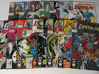 Marvel 1991 Lot of 15 Deathlok #1-15 VF/NM