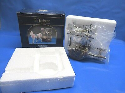 "2004 Fontanini Italy Retired Music Cart for 5"" Collection NIB #56575"