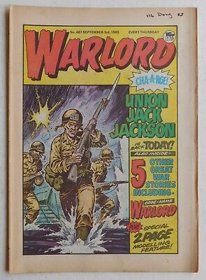 WARLORD Comic #467 - 3rd September 1983
