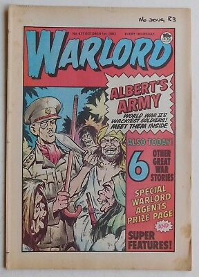 WARLORD Comic #471 - 1st October 1983