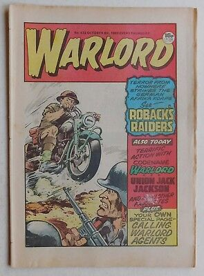WARLORD Comic #472 - 8th October 1983
