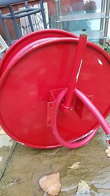 Red fire hose reel with 30M X 19MM HOSE