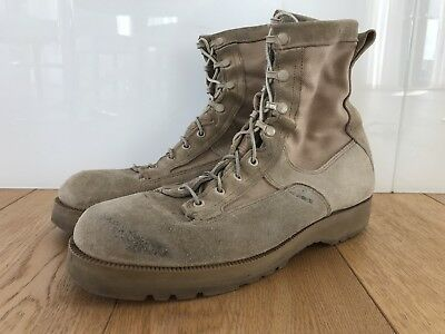 US Army / US Air Force Tan Gortex Boots - US Size 11R