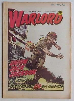 WARLORD Comic #497 - 31st March 1984
