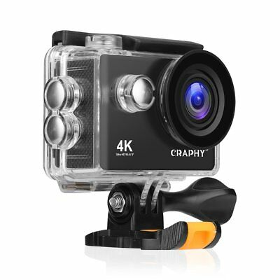 Action Camera 4K 2 Inch LCD WiFi Ultra HD IP68 Waterproof Sport Camera Swimming