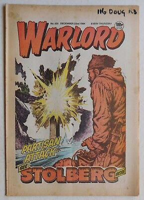 WARLORD Comic #535 - 22nd December 1984