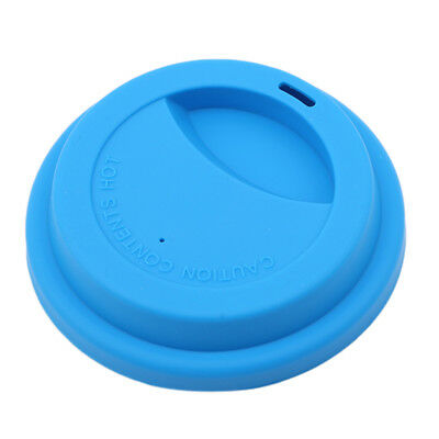 Anti-dust Silicone Glass Cup Cover Coffee Mug Suction Seal Lid Cap G