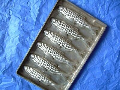 chocolate mold  antique mold  candy mold  fish
