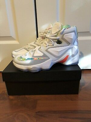 a8a05e7d6171 NIKE LEBRON 9 low (drk gry mnt cndy cl gry nw grn) Mens Sz 10 Easter ...