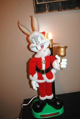 Vintage Looney Tunes Warner Brothers Animated Bugs Bunny Santa Claus Christmas