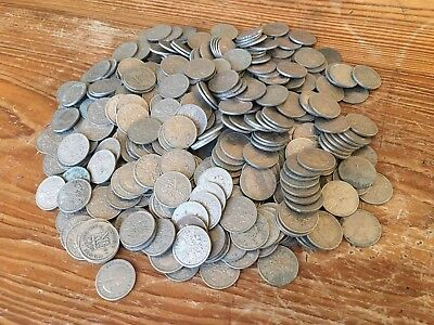 Job Lot Of Old Sixpences Over 450 Coins George VI And Elizabeth II