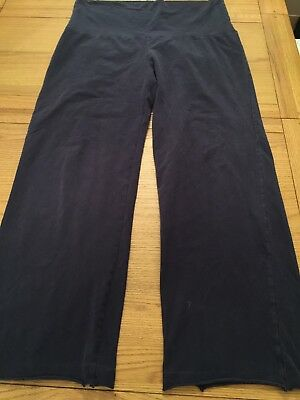 blooming marvellous Maternity Size 16/18 Short Navy Yoga Pants Joggers Trousers