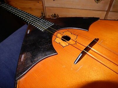 Balalaika, luthier grade with Soviet era hard case