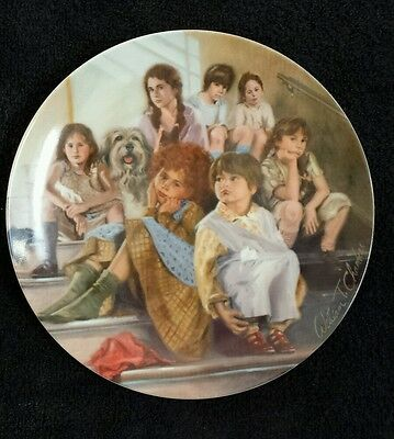 """""""Annie and the Orphans"""" Collector Plate"""