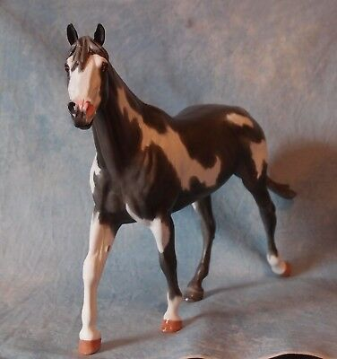 Breyer Cm~Grey Overo Paint Stallion~Flashy & Ooak~Donation 4 Horses