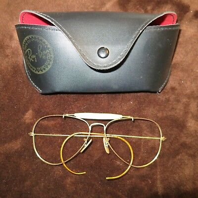 Ray Ban Outdoorsman 58MM Frames Only USA Vintage