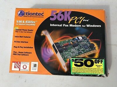 ACTIONTEC V.92 PCI WINDOWS MODEM WINDOWS 10 DRIVERS DOWNLOAD