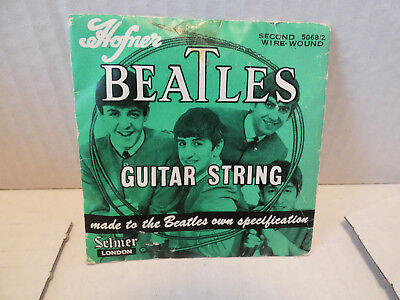 Beatles Guitar String By Hofner