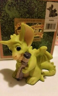 Pocket Dragons Dragon *Mint in Box* - Purple, Signed by Artist  - 1995