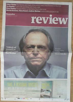 Don DeLillo – rare interview – the Guardian Review – 16 April 2016