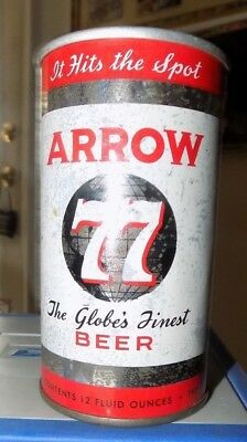 Arrow 77 Globes Finest Beer Flat Top Beer Can Cumberland Md See Pic