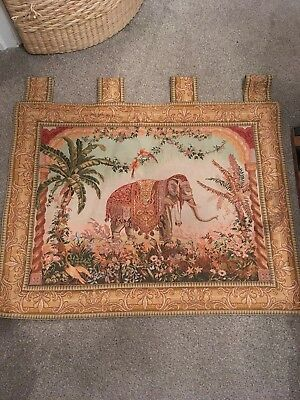 Indian Wall Tapestry. Beautiful And Charming. 29 Long X 33 Wide (inches)
