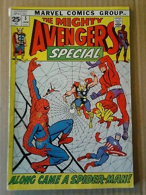 The Mighty Avengers Special # 5 Spider man