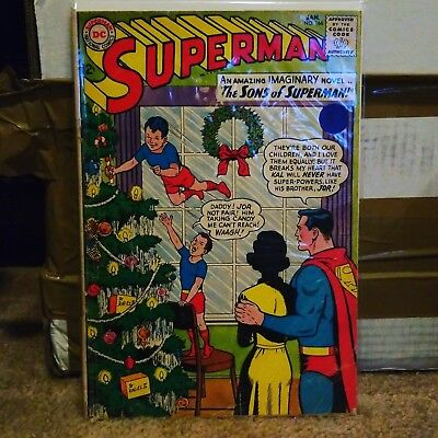 Superman (1939 series) #166 lower grade DC comics