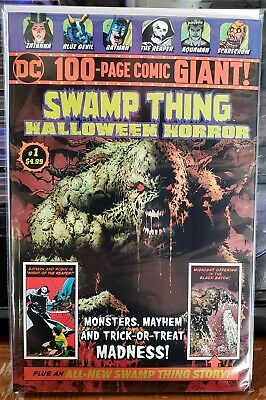 Swamp Thing #1 NM Halloween Horror Walmart 100 Page Giant