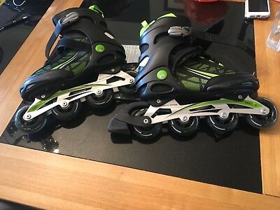 No Fear In Line Skates Size Uk 8