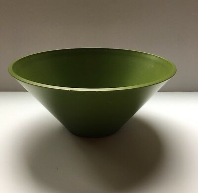Mid Century 60's Modern Bowl ACCA David Douglas Avocado Decorative Collectible