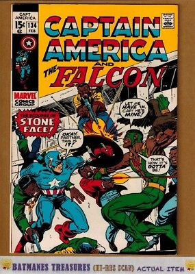 Captain America #134 (8.5) VF+ 1971 Bronze Age By Stan Lee