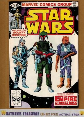 Star Wars #42 (7.5) VF- 1st Boba Fett Appearance 1980 Bronze Age Key Issue