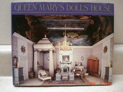 Queen Mary's Dolls' House by Mary Stewart-Wilson, hardcover w/ dust jacket 1988