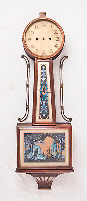 New Haven 30 day banjo clock @ 1920s Large Project
