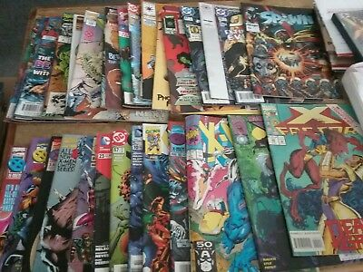 Huge Comic Book Lot 2 Marvel Dc Indy Superman Batman X-Men No Duplicates