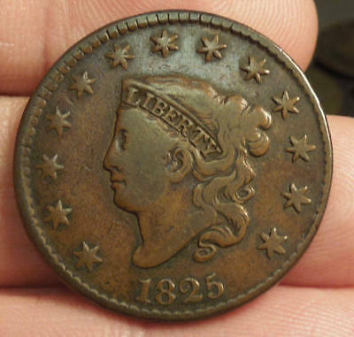 1825 Matron Head Large Cent  - Nice Color & Detail - Very Nice Coin!