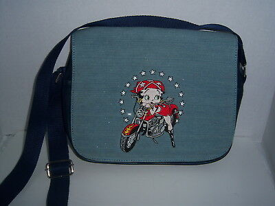 Betty Boop Handbag - Navy/denium With Sparkle - Nwot